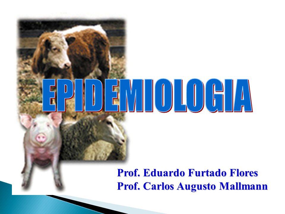 EPIDEMIOLOGIA Prof. Eduardo Furtado Flores