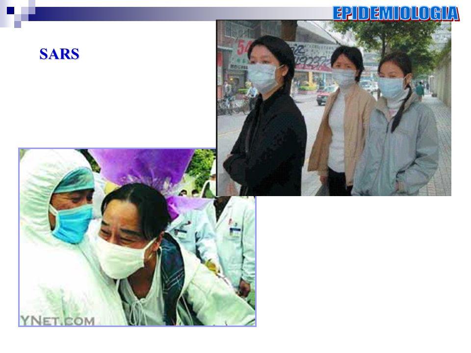 EPIDEMIOLOGIA SARS