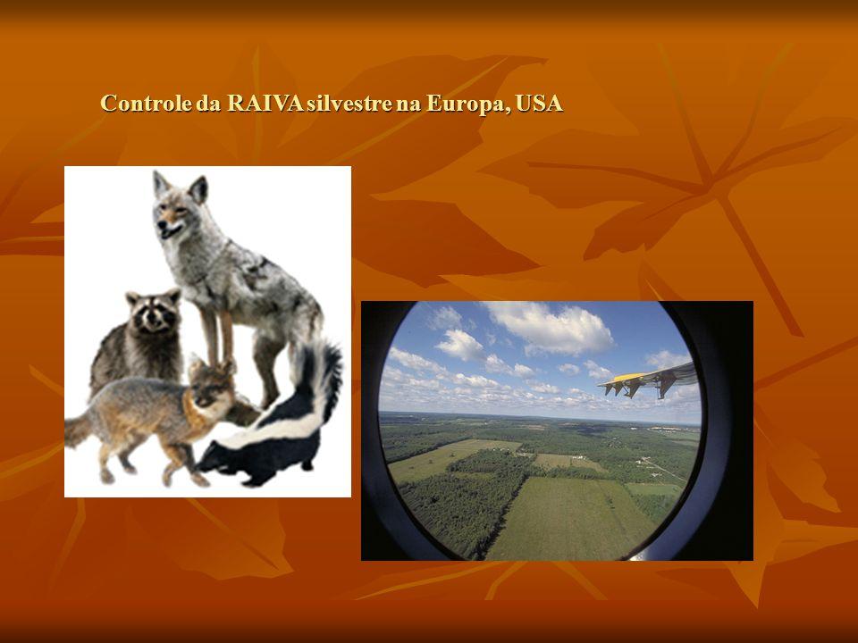 Controle da RAIVA silvestre na Europa, USA