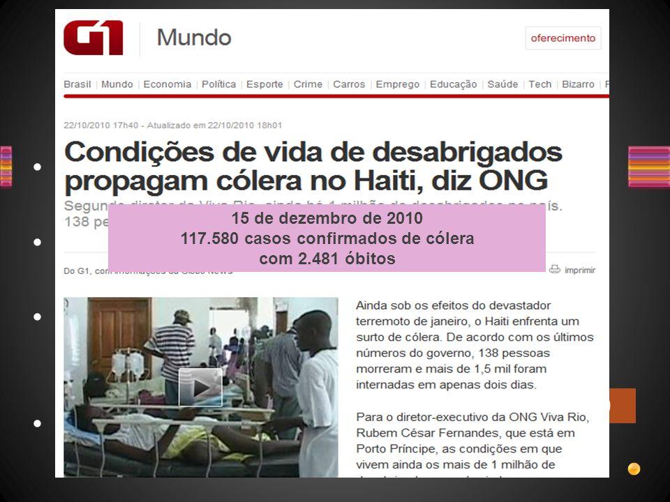 117.580 casos confirmados de cólera