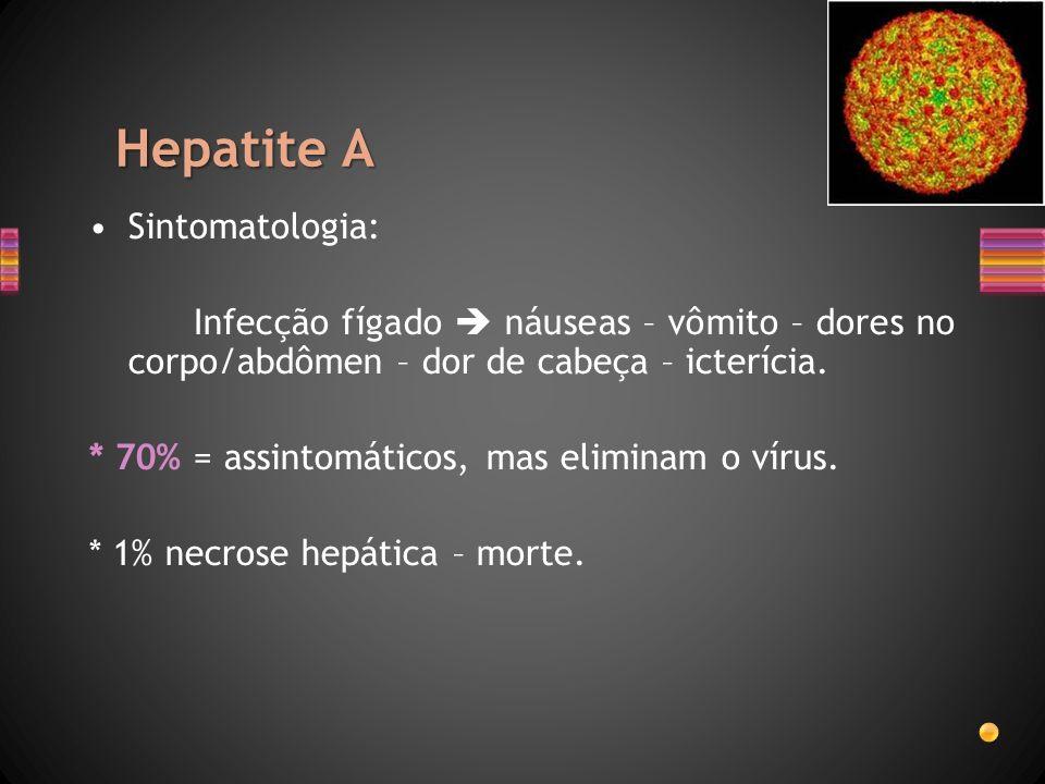 Hepatite A Sintomatologia: