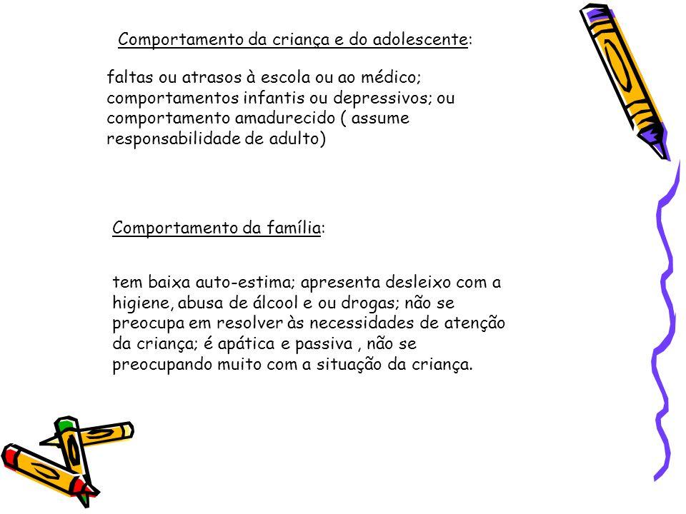 Comportamento da criança e do adolescente: