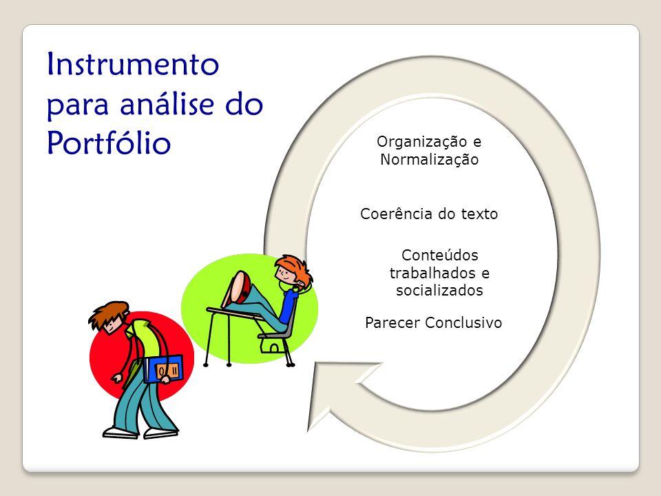 Instrumento para análise do Portfólio