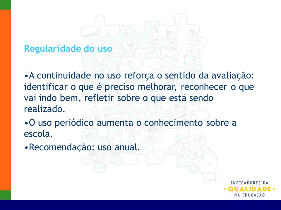 Regularidade do uso