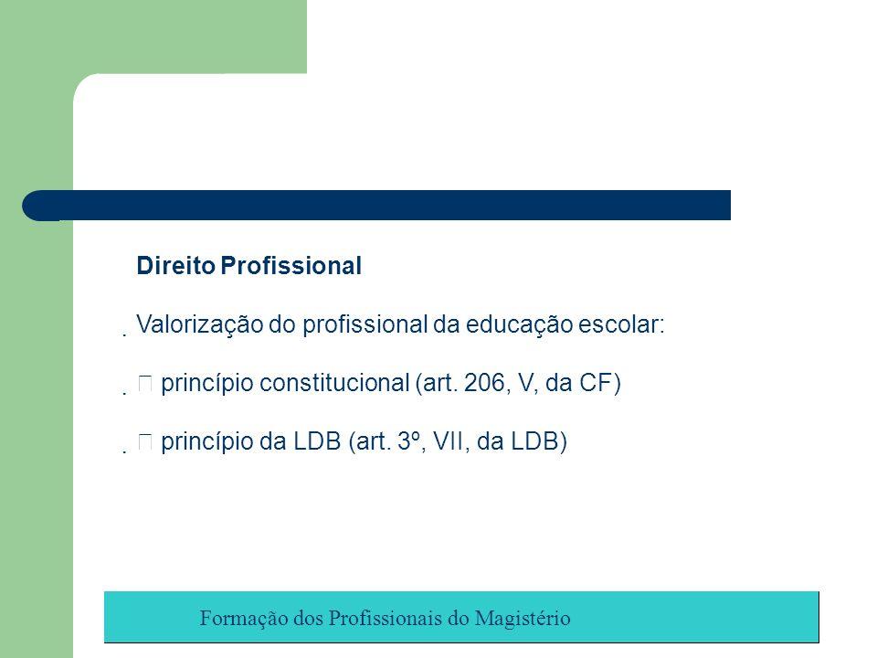 Valorização do profissional da educação escolar: