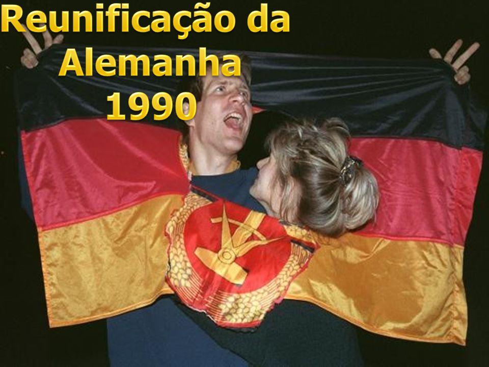 Reunificação da Alemanha 1990