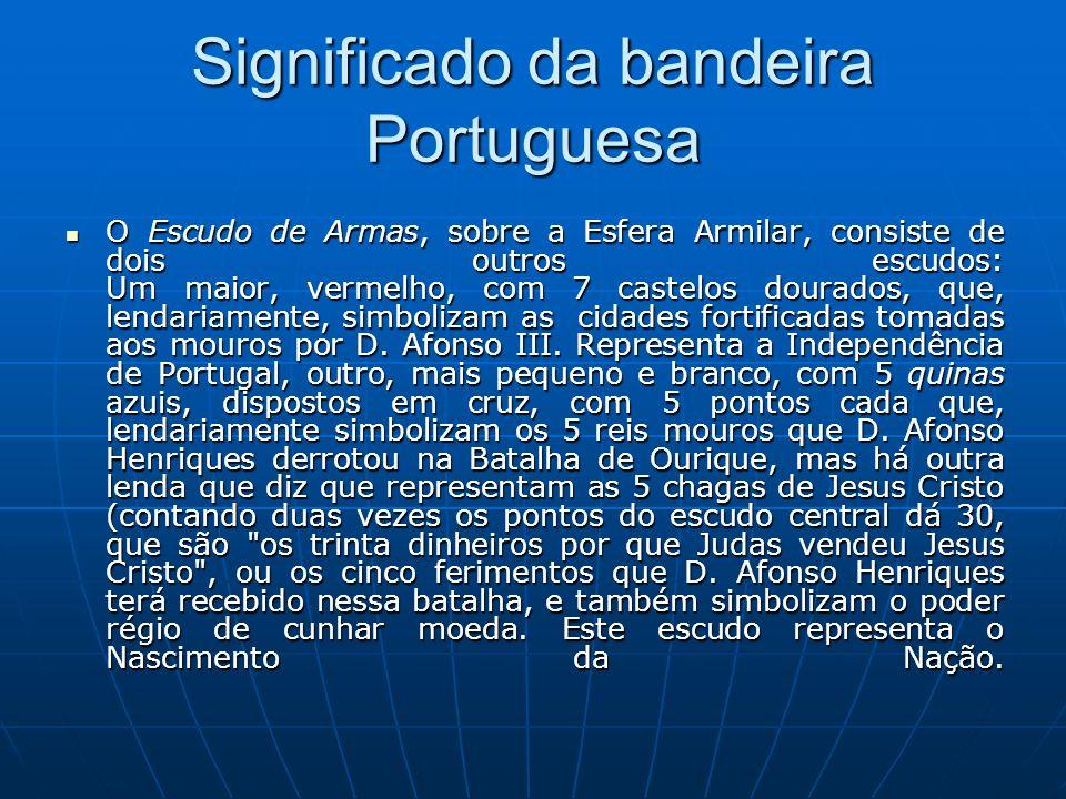 Significado da bandeira Portuguesa