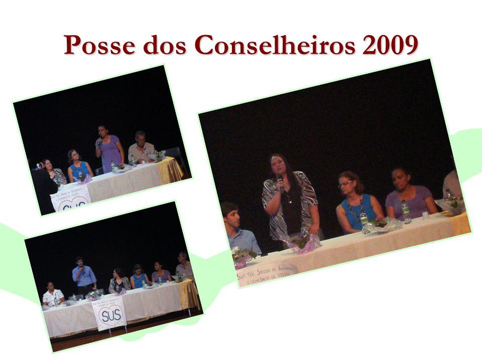 Posse dos Conselheiros 2009