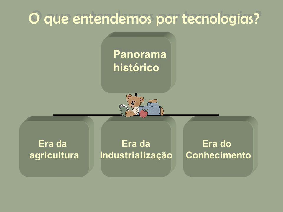 O que entendemos por tecnologias