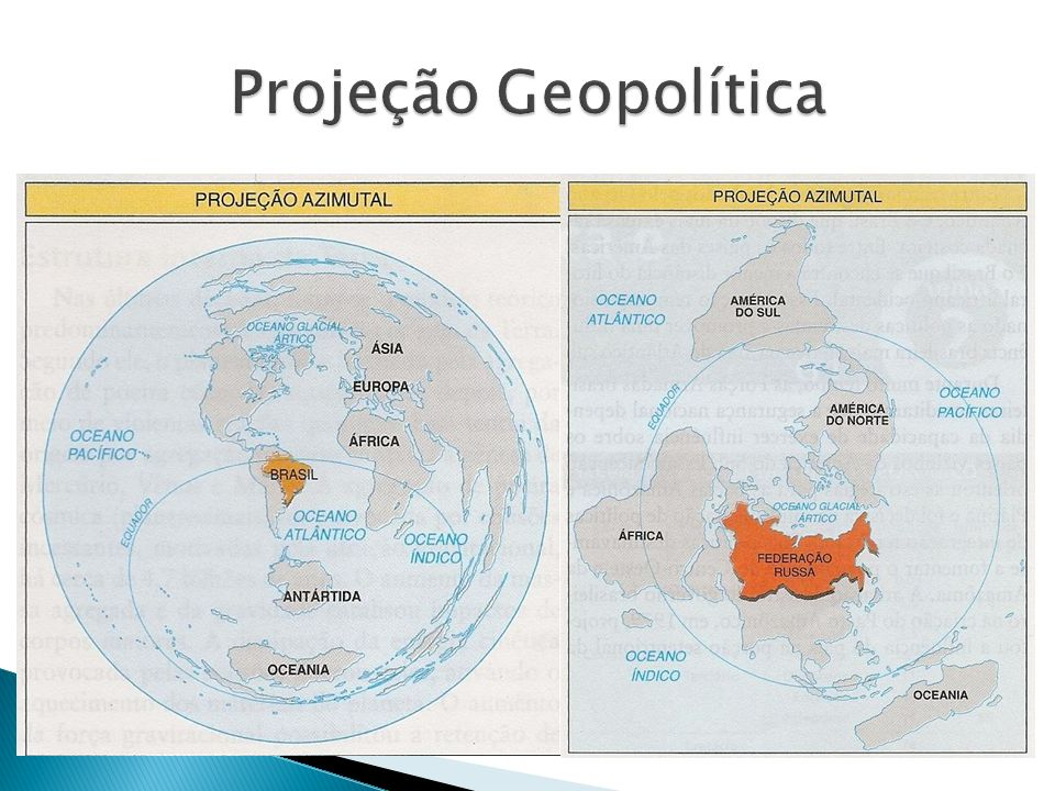 Projeção Geopolítica