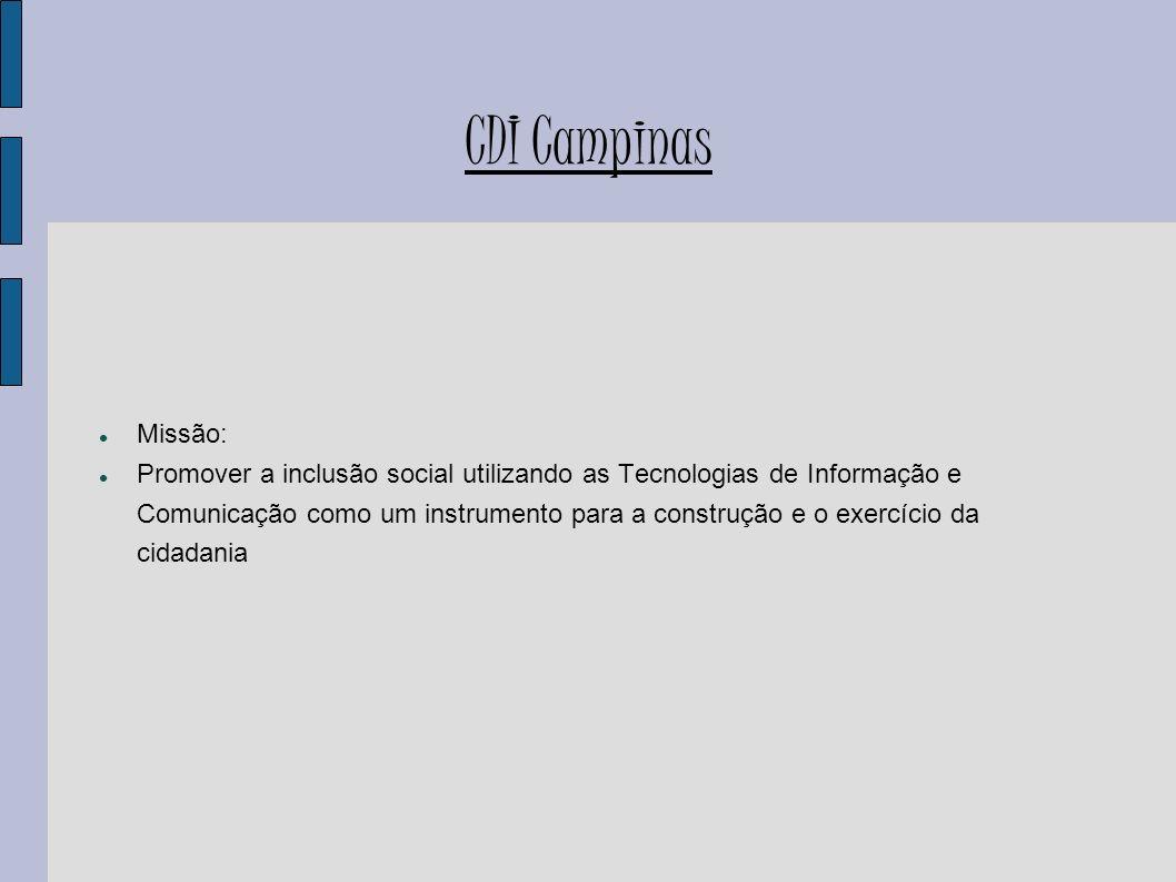 CDI CampinasMissão: