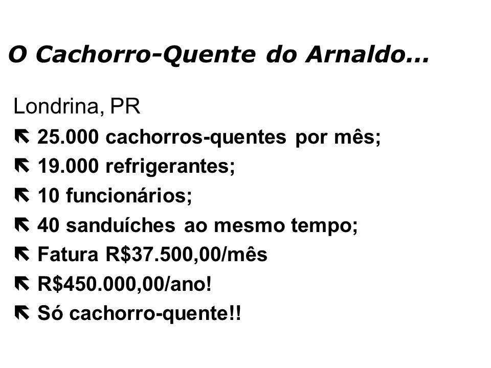 O Cachorro-Quente do Arnaldo...