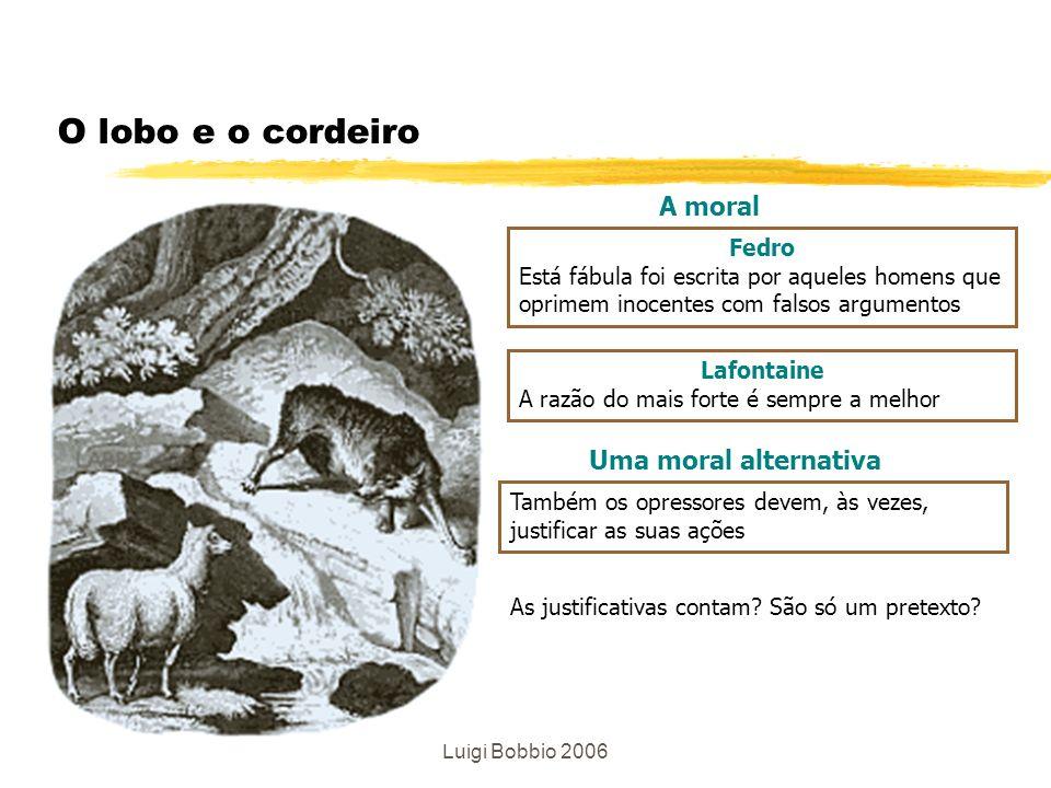 O lobo e o cordeiro A moral Uma moral alternativa Fedro