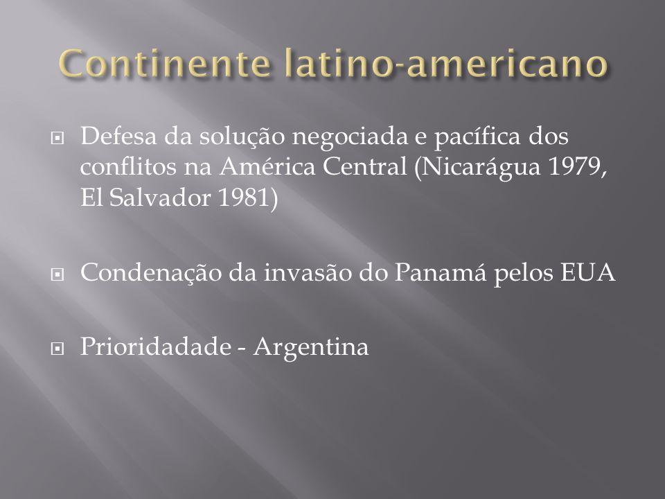 Continente latino-americano