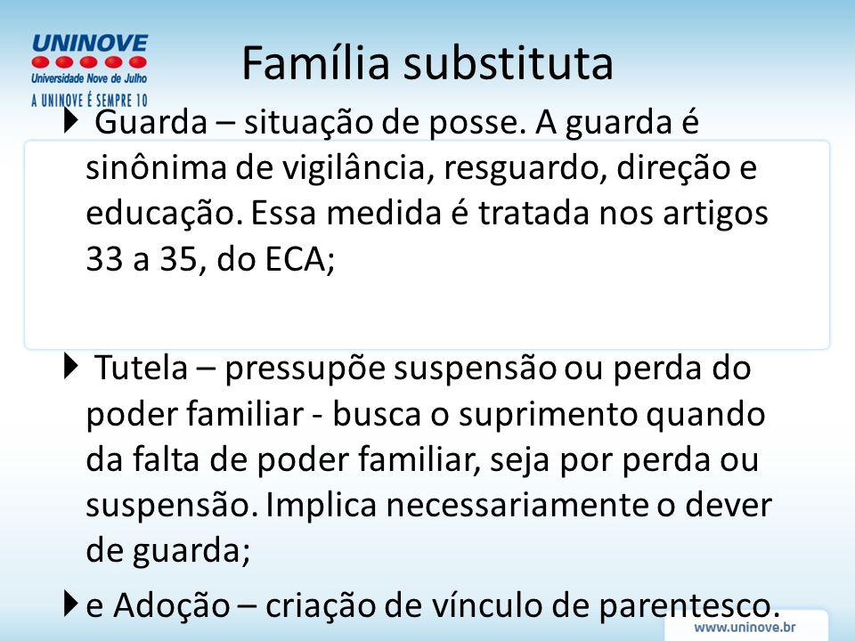 Família substituta