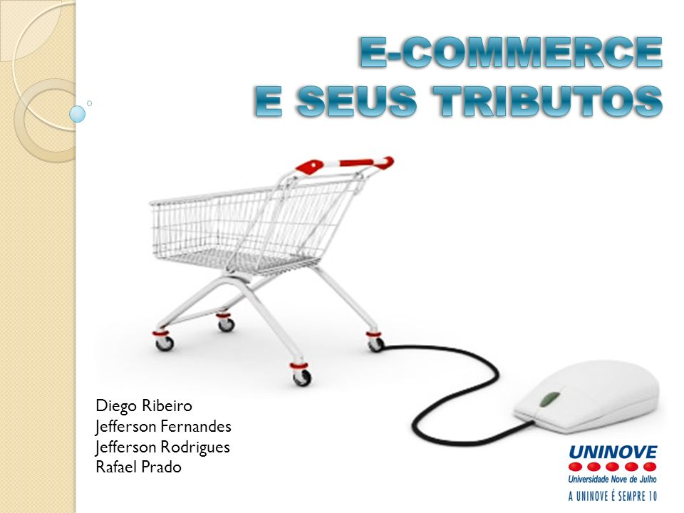 E-COMMERCE E SEUS TRIBUTOS