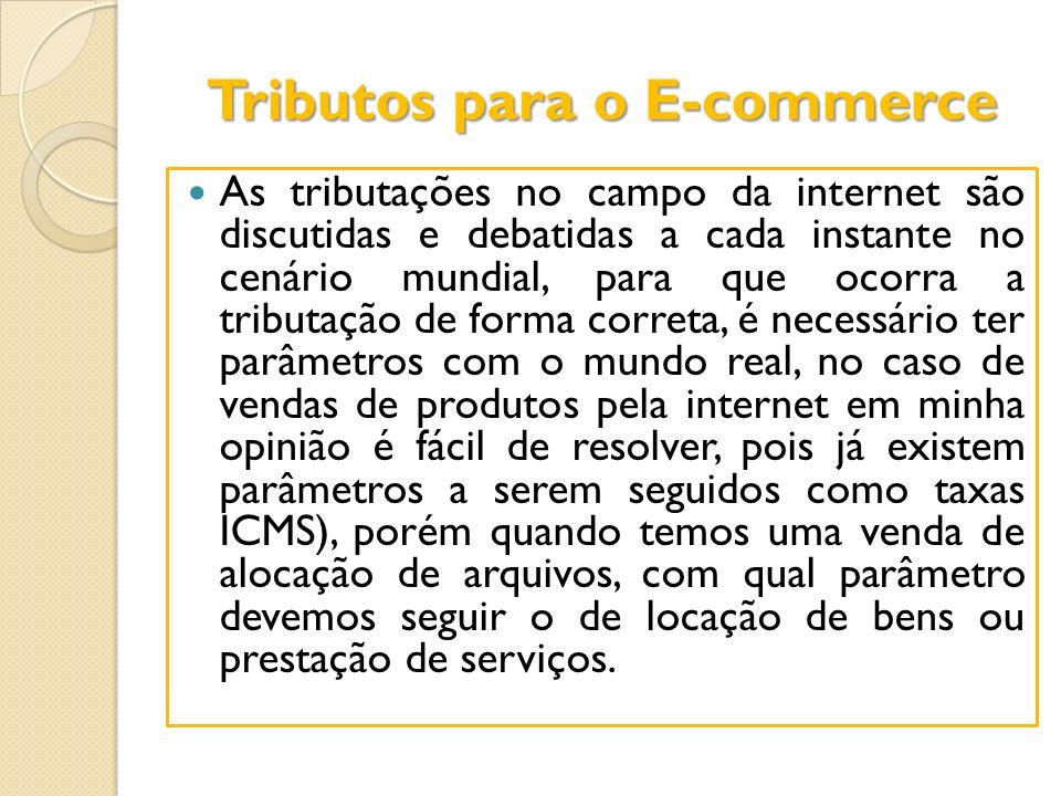 Tributos para o E-commerce