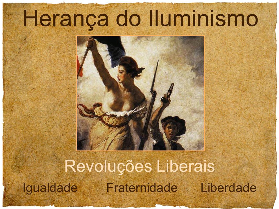 Revoluções Liberais Igualdade Fraternidade Liberdade