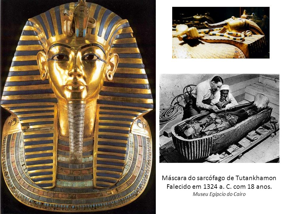 Máscara do sarcófago de Tutankhamon