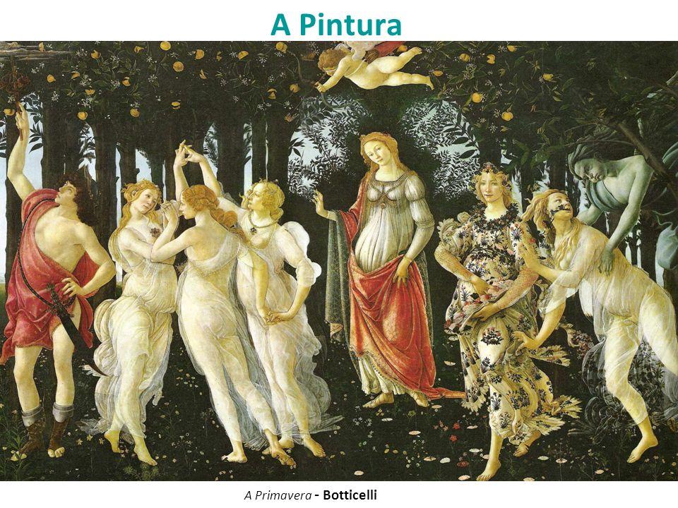 A Pintura A Primavera - Botticelli