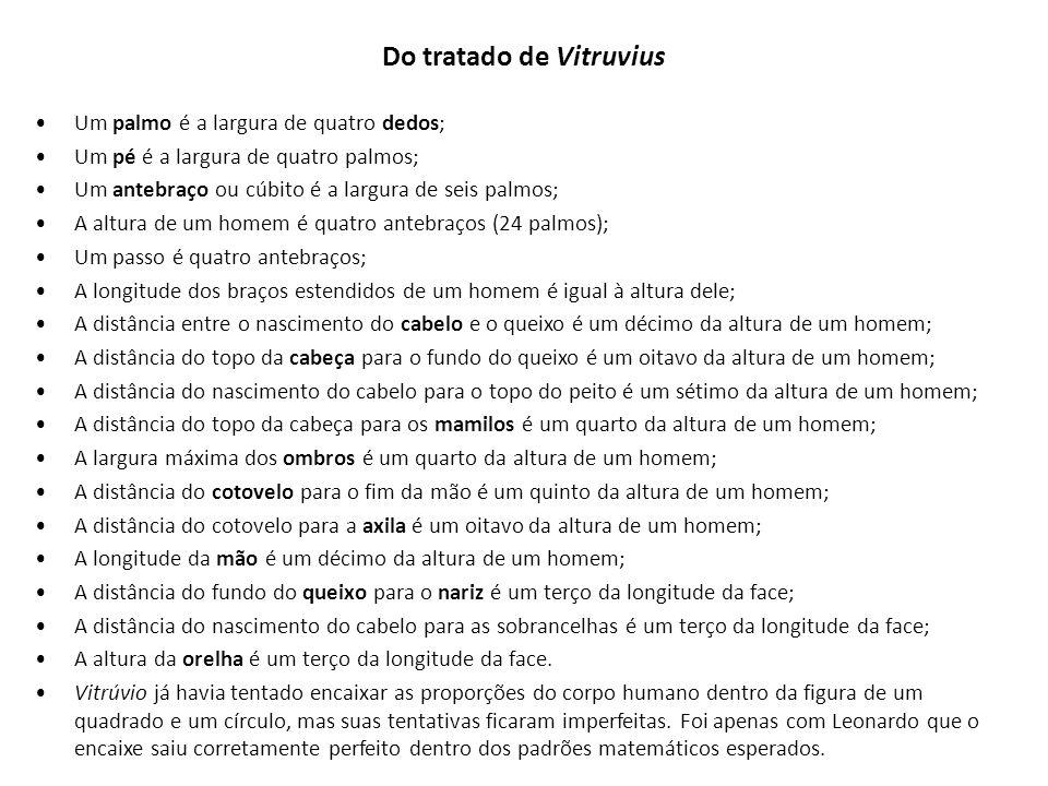 Do tratado de Vitruvius