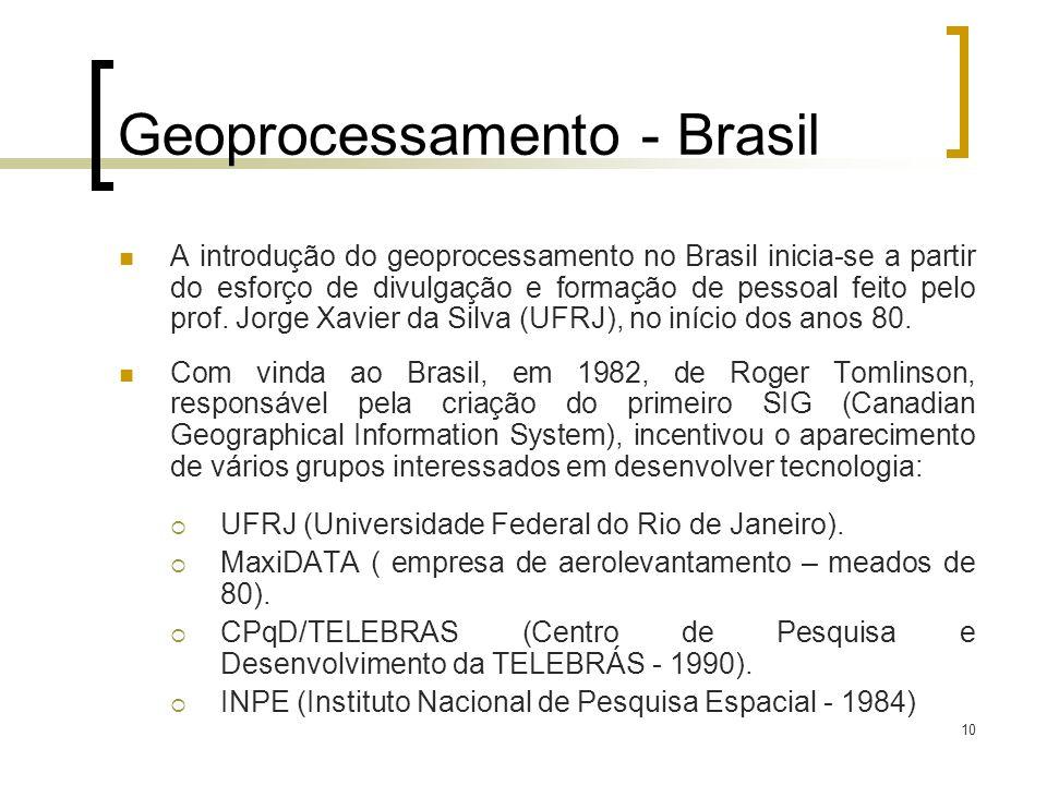 Geoprocessamento - Brasil