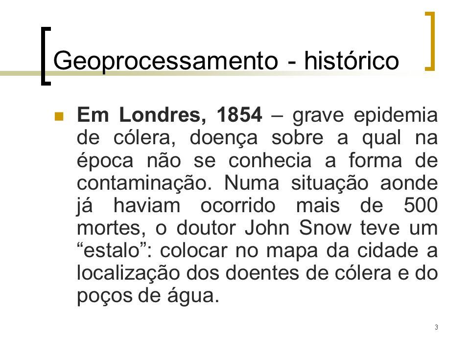 Geoprocessamento - histórico