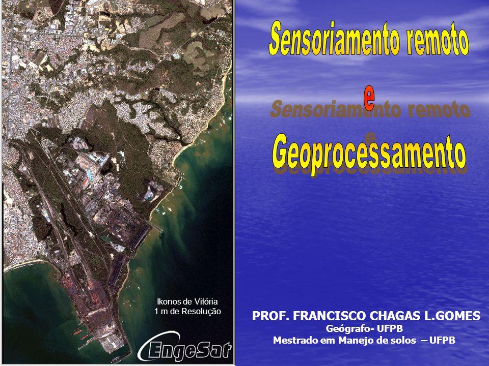 PROF. FRANCISCO CHAGAS L.GOMES Mestrado em Manejo de solos – UFPB