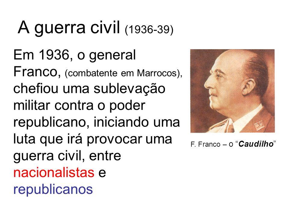 A guerra civil (1936-39)