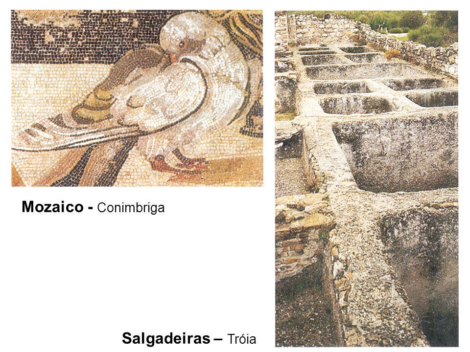 Mozaico - Conimbriga Salgadeiras – Tróia