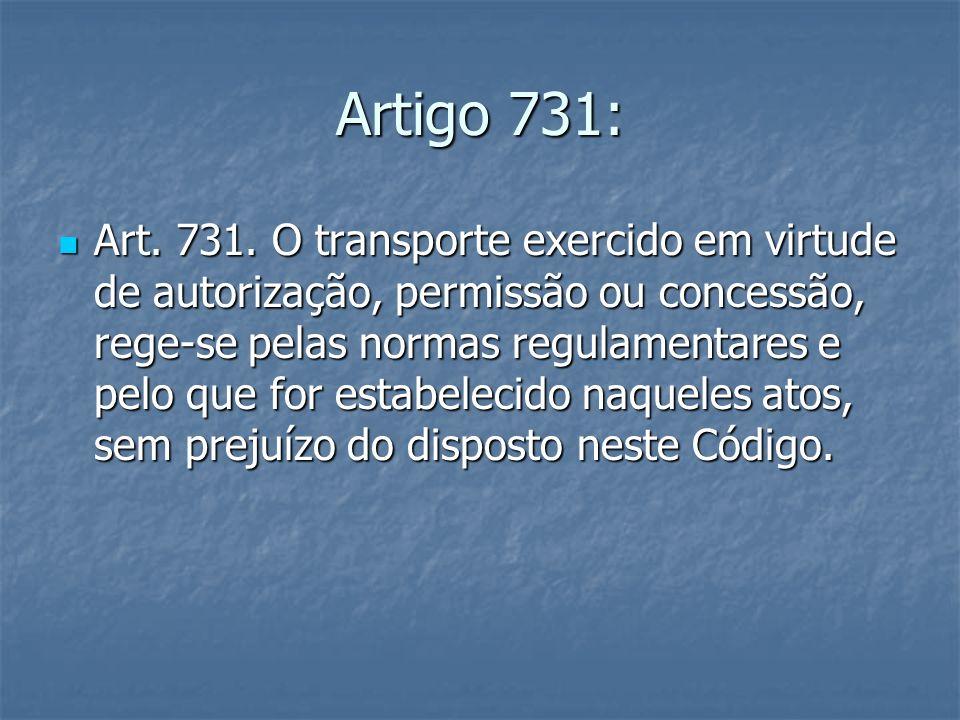 Artigo 731: