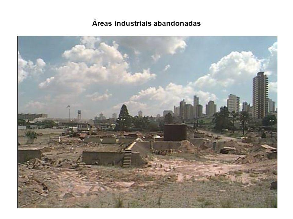Áreas industriais abandonadas