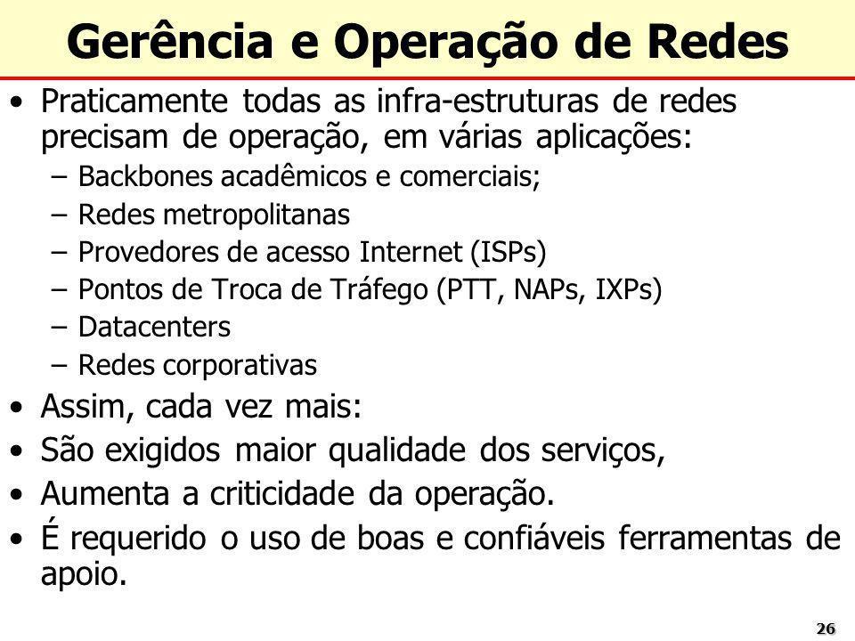 Gerência e Operação de Redes
