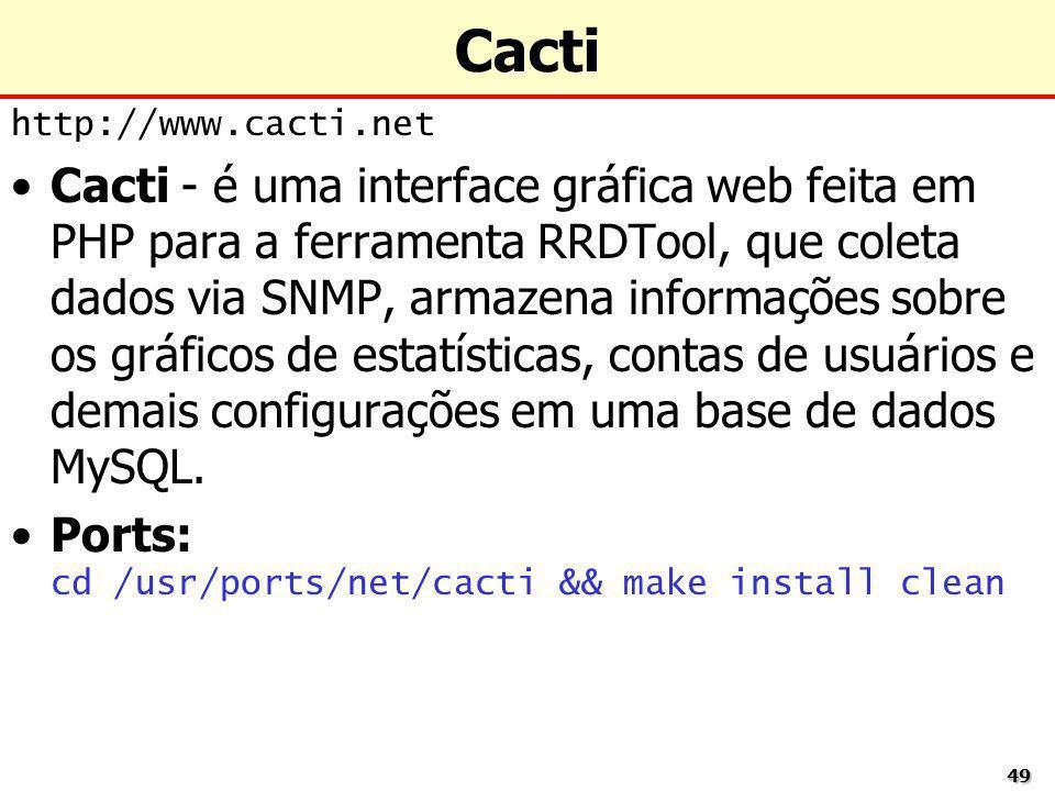 Cactihttp://www.cacti.net.