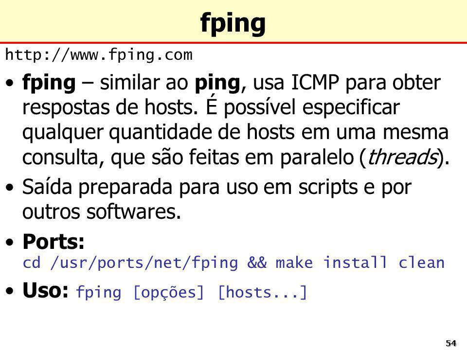 fping http://www.fping.com.