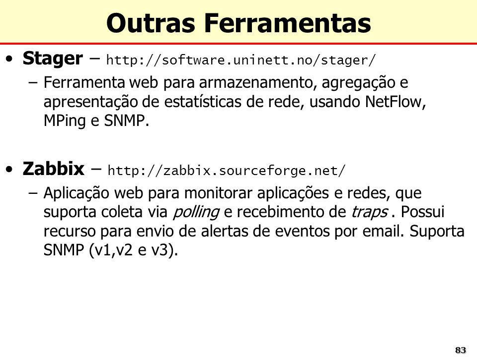 Outras Ferramentas Stager – http://software.uninett.no/stager/