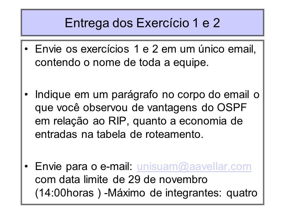 Entrega dos Exercício 1 e 2