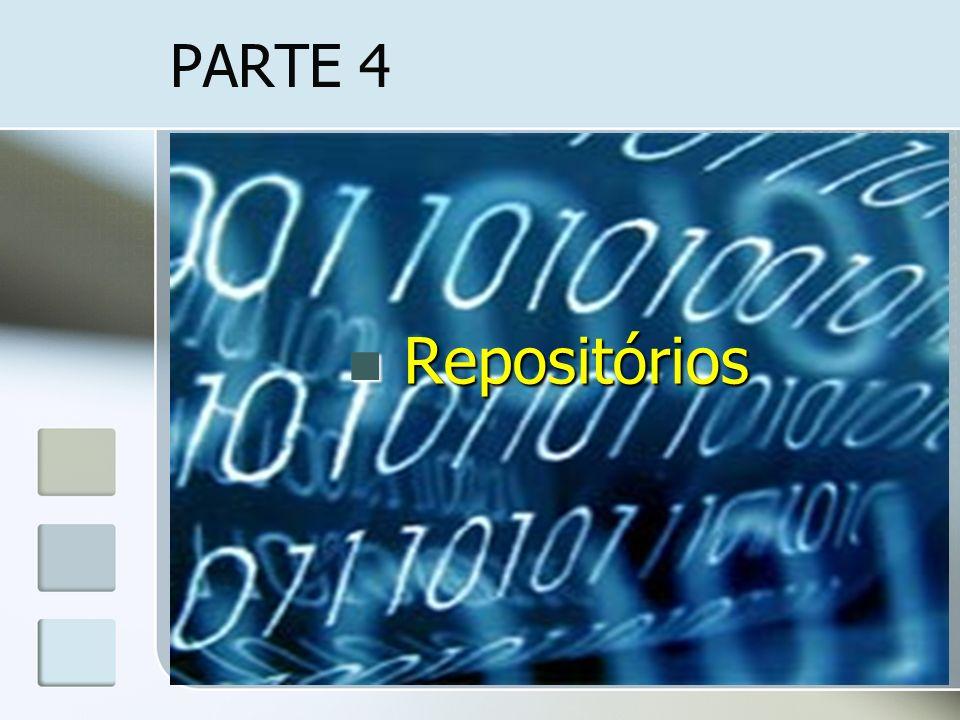PARTE 4 Repositórios