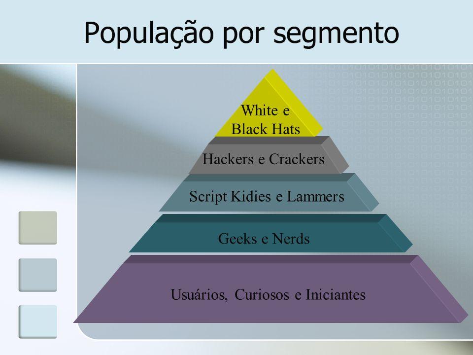 População por segmento