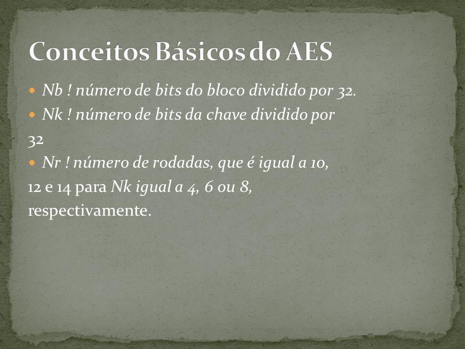 Conceitos Básicos do AES