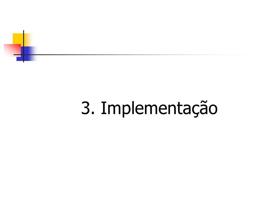3. Implementação