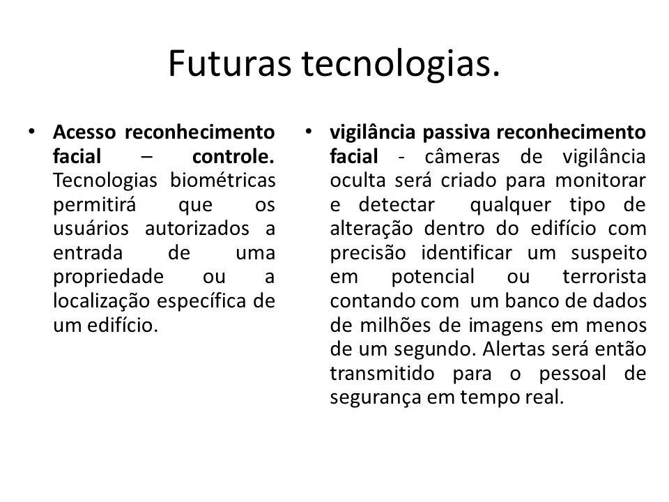 Futuras tecnologias.