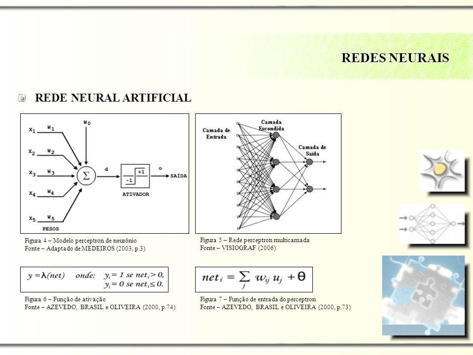 REDES NEURAIS REDE NEURAL ARTIFICIAL