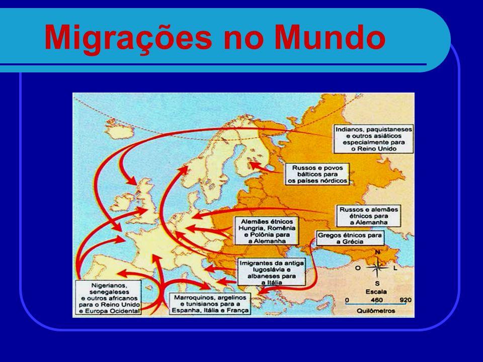 Migrações no Mundo