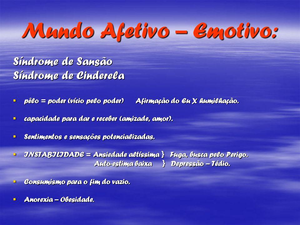 Mundo Afetivo – Emotivo: