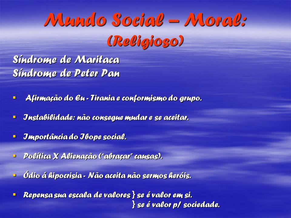 Mundo Social – Moral: (Religioso)