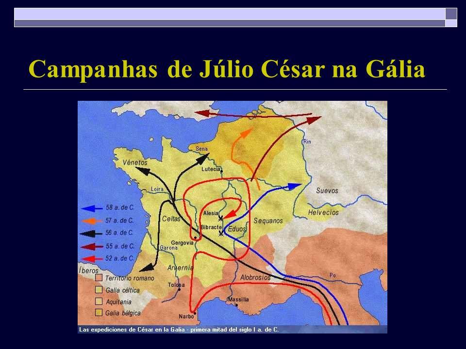 Campanhas de Júlio César na Gália