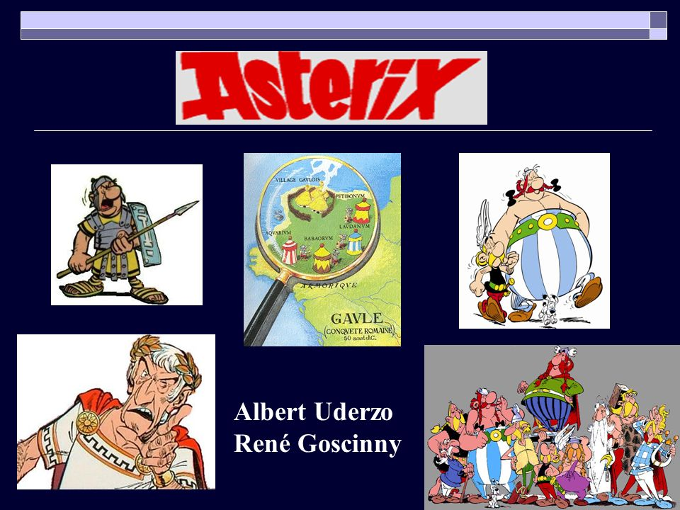 Albert Uderzo René Goscinny
