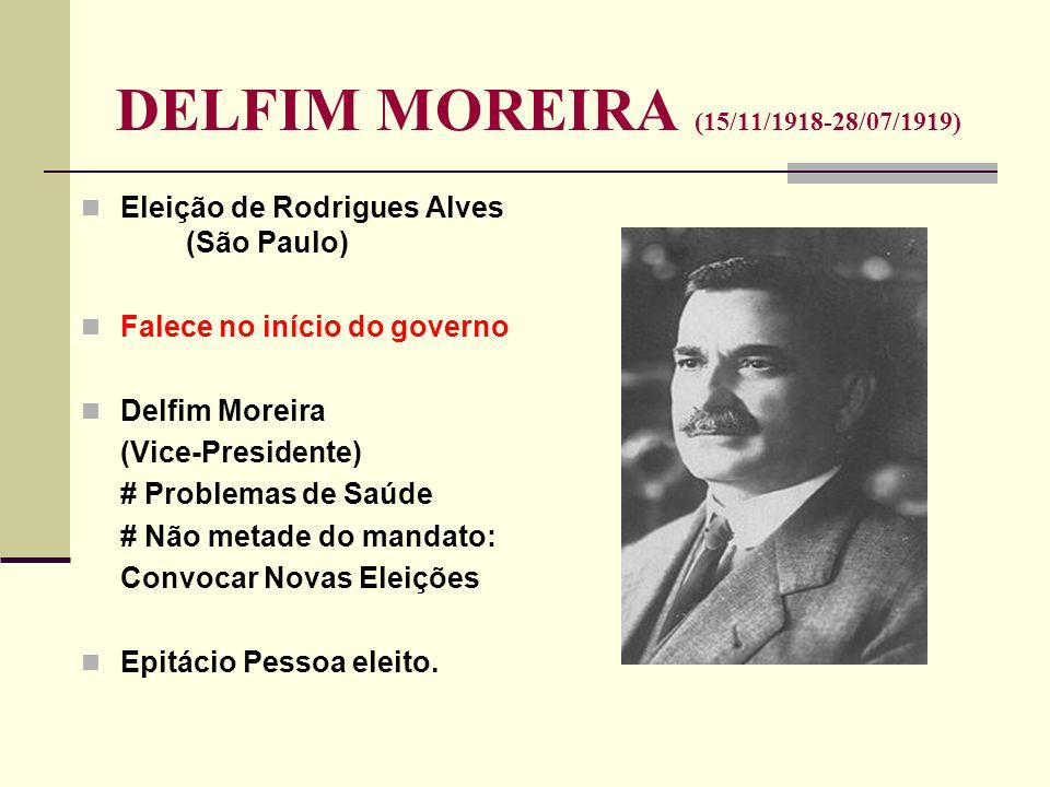 DELFIM MOREIRA (15/11/1918-28/07/1919)