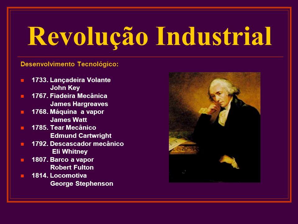 Revolução Industrial Desenvolvimento Tecnológico: